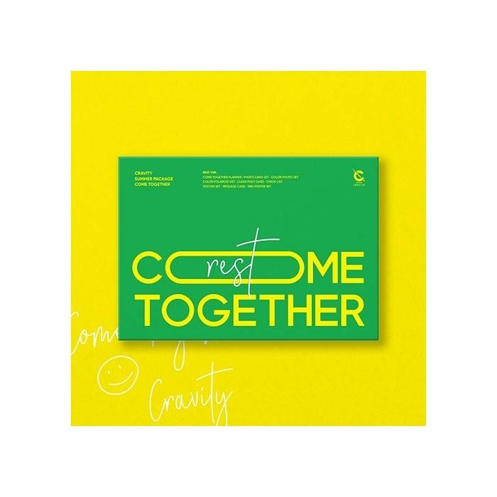 CRAVITY - SUMMER PACKAGE : COME TOGETHER (REST Ver)