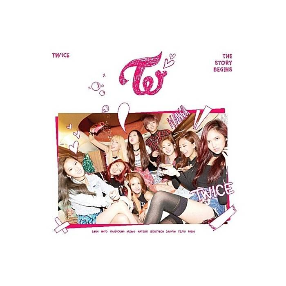 TWICE - 1st Mini Album The Story Begins