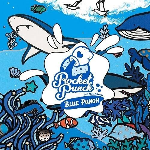 Rocket Punch - 3rd Mini Album BLUE PUNCH