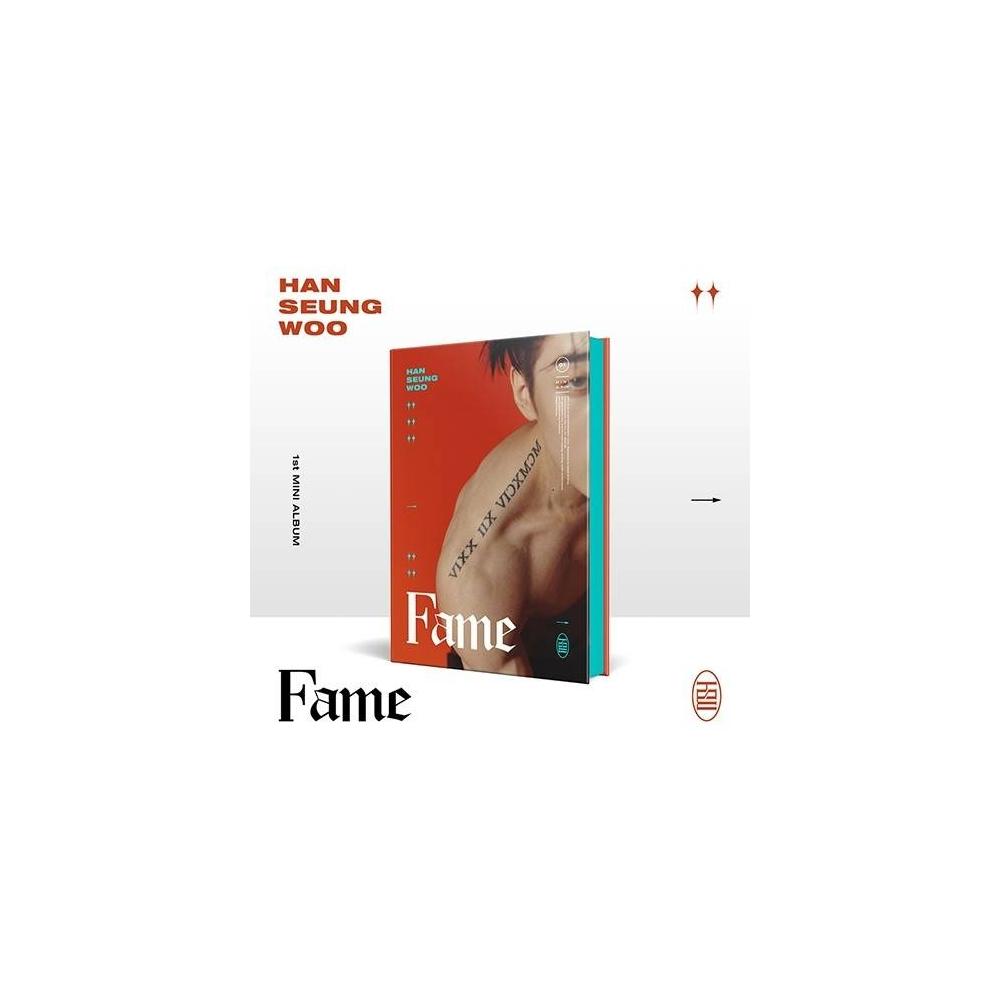 HAN SEUNG WOO - 1st Mini Album Fame (Woo Ver.)