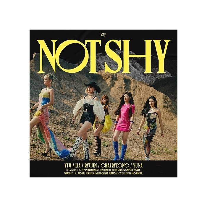 ITZY - Not Shy Album