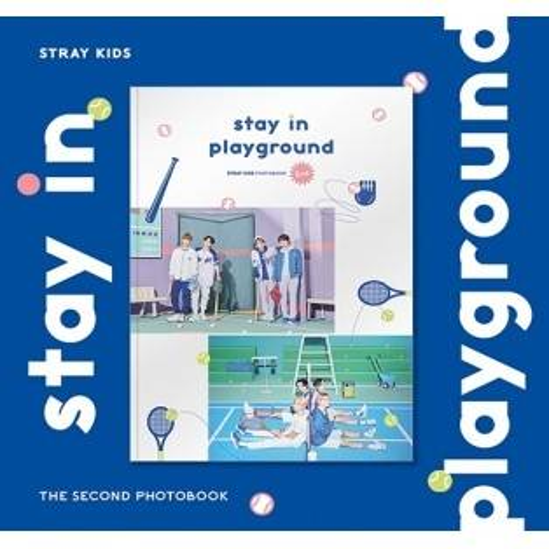 STRAY KIDS - 2nd PHOTOBOOK stay in playground