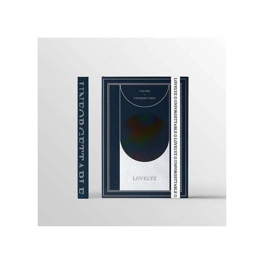 Lovelyz - 7th Mini Album Unforgettable (B Ver.)