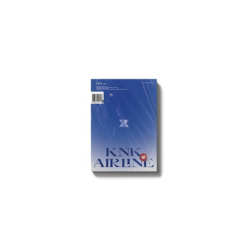 KNK - 3rd Mini Album AIRLINE (ON Ver.)