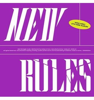 Weki Meki - 4th Mini Album NEW RULES (Break Ver.)