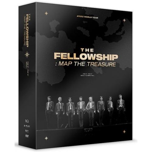 ATEEZ - WORLD TOUR THE FELLOWSHIP : MAP THE TREASURE SEOUL DVD