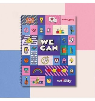 Weeekly - 2nd Mini Album We can (Wave Ver.)
