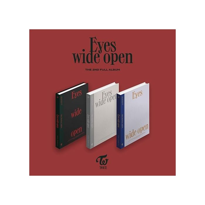 TWICE - 2nd Album Eyes wide open (Random Ver.)