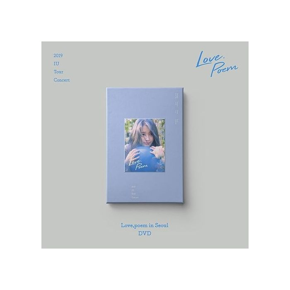 IU - 2019 Tour Concert : Love,, poem in Seoul 2DVD