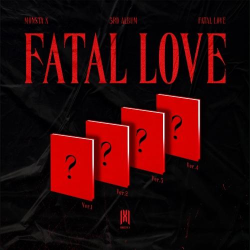 MONSTA X - 3rd Album Fatal Love (Random Ver.)