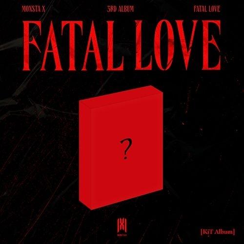 MONSTA X - 3rd Album Fatal Love (Kit Album)