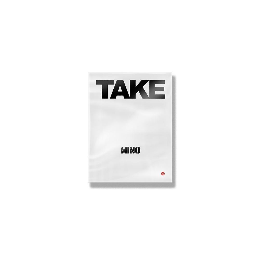 MINO - 2nd FULL ALBUM 'TAKE' (Take 1 Ver.)