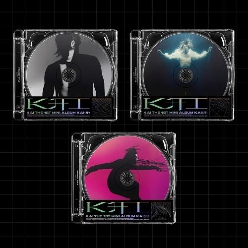 KAI - 1st Mini Album: KAI (Jewel Case Ver.)