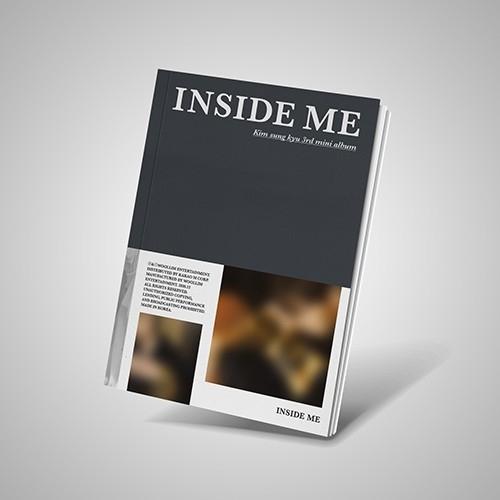 Kim Sung Kyu - 3rd Mini Album INSIDE ME (A Ver.)