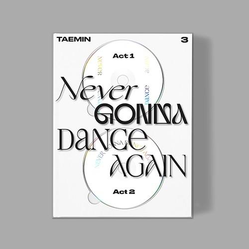 TAEMIN - 3rd Album Never Gonna Dance Again (Extended Ver.)