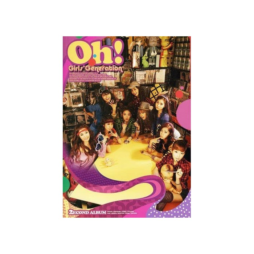 Girls' Generation (SNSD) - 2nd Album Oh!