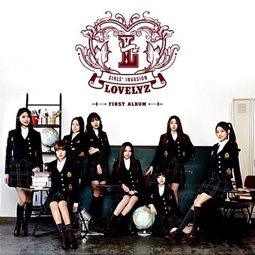 Lovelyz - 1st Album Girls' Invasion