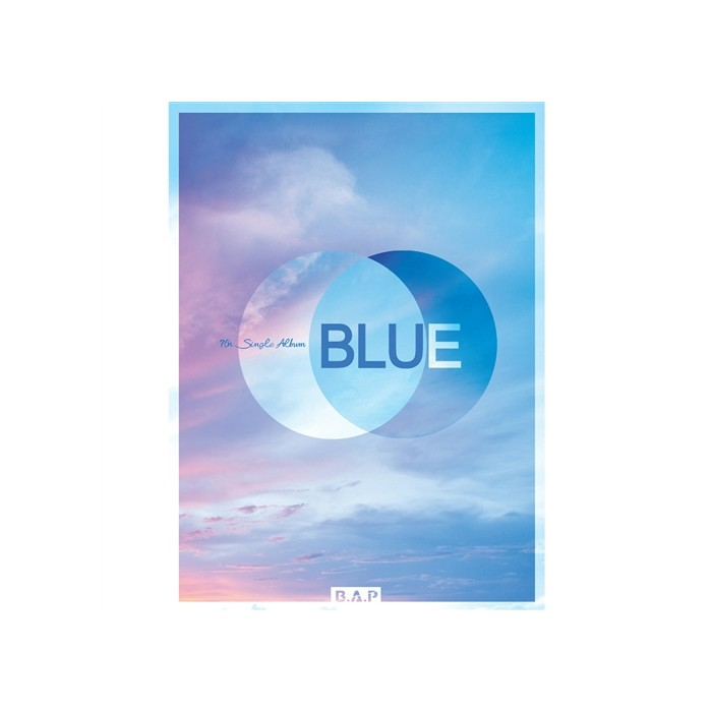 B.A.P - 7th Single Album BLUE (Ver.B)
