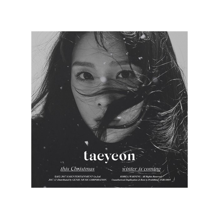 Taeyeon - Winter Album This Christmas – Winter is Coming