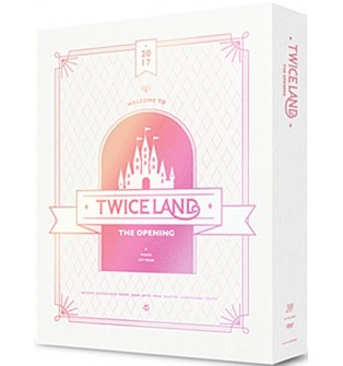 "TWICE - ,TWICELAND,"" The Opening Concert DVD"""