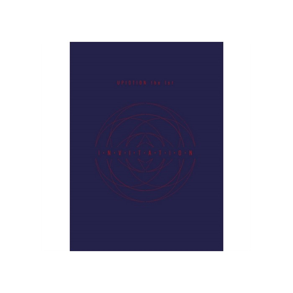 UP10TION - 1st Album INVITATION (Red Ver.)