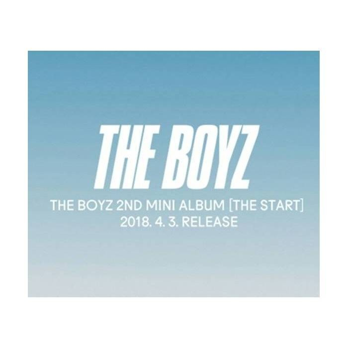 The Boyz - 2nd Mini Album The Start (Random Ver.)