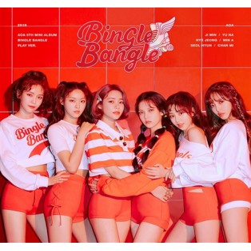 AOA - 5th Mini Album Bingle Bangle (A: Play Ver.)