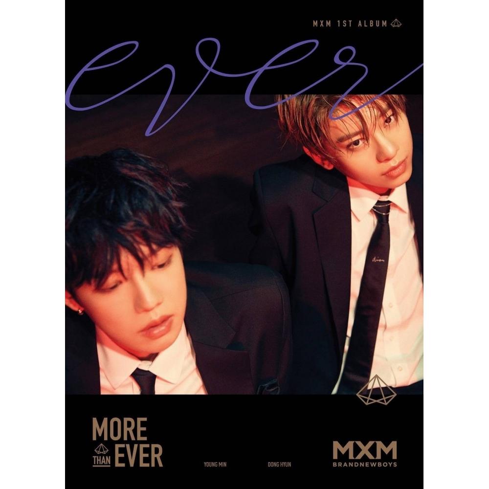 MXM (Brand New Boys) - 1st Album More Than Ever (Ever Ver.)