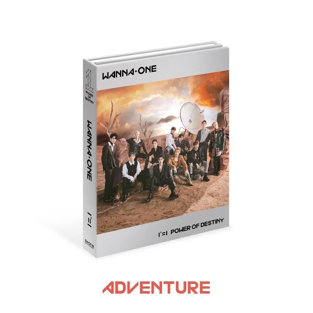 Wanna One - 1st Album 1-1 POWER OF DESTINY (Adventure Ver.)