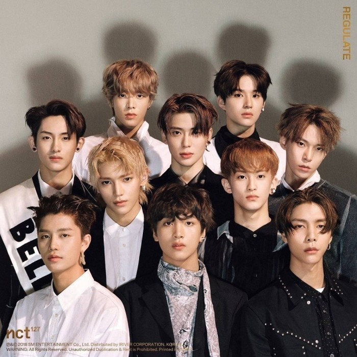 NCT 127 - 1st Album Repackage Regulate