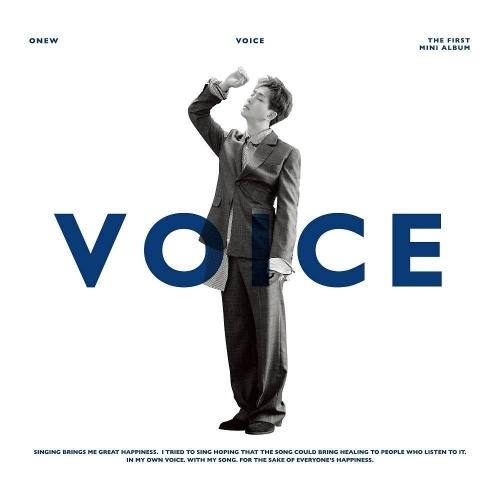 ONEW - 1st Mini Album Voice (Random Ver.)