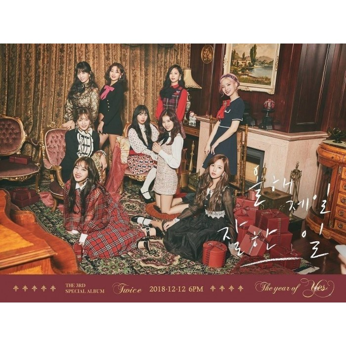 TWICE - The 3rd Special Album The Year of Yes