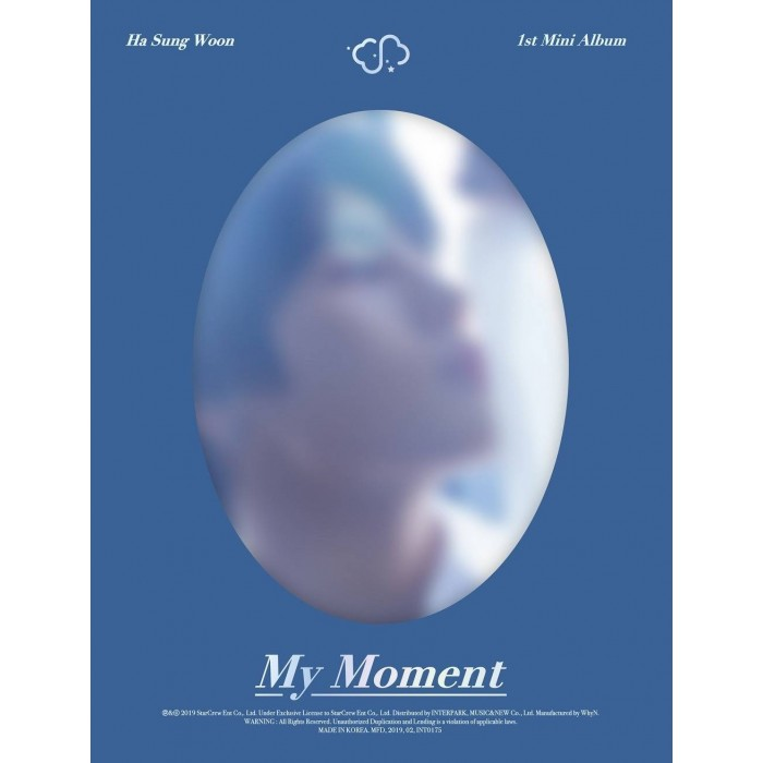 Ha Sung Woon - 1st Mini Album My Moment (Daily Ver.)