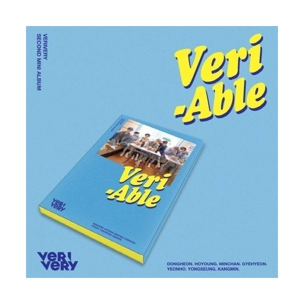 VERIVERY - 2nd Mini Album Veri-Able (Kihno Album)