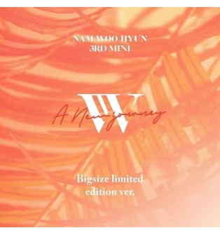 Nam Woo Hyun - 3rd Mini Album A New Journey (Big Size Limited Edition)