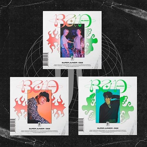 Super Junior D&E - 4th Mini Album Bad Blood