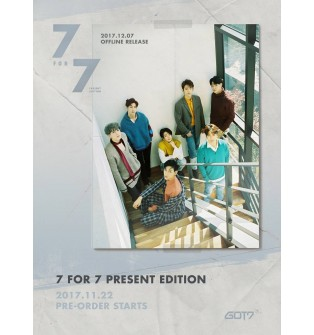 GOT7 - Mini Album 7 for 7 Present Edition (preorder item available)