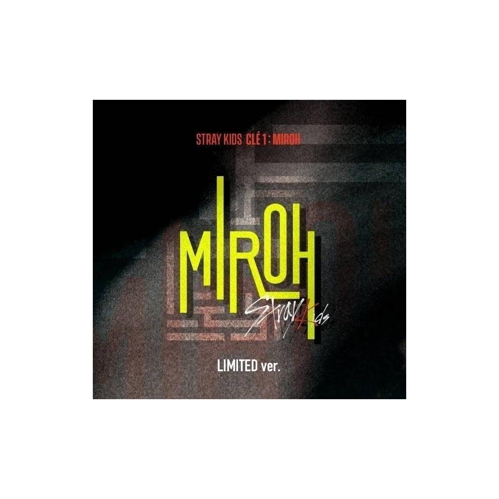 Stray Kids - Mini Album Clé 1 : MIROH (Corner Damaged,, Maximum 1 Copy per Person,, Limited Ver.)