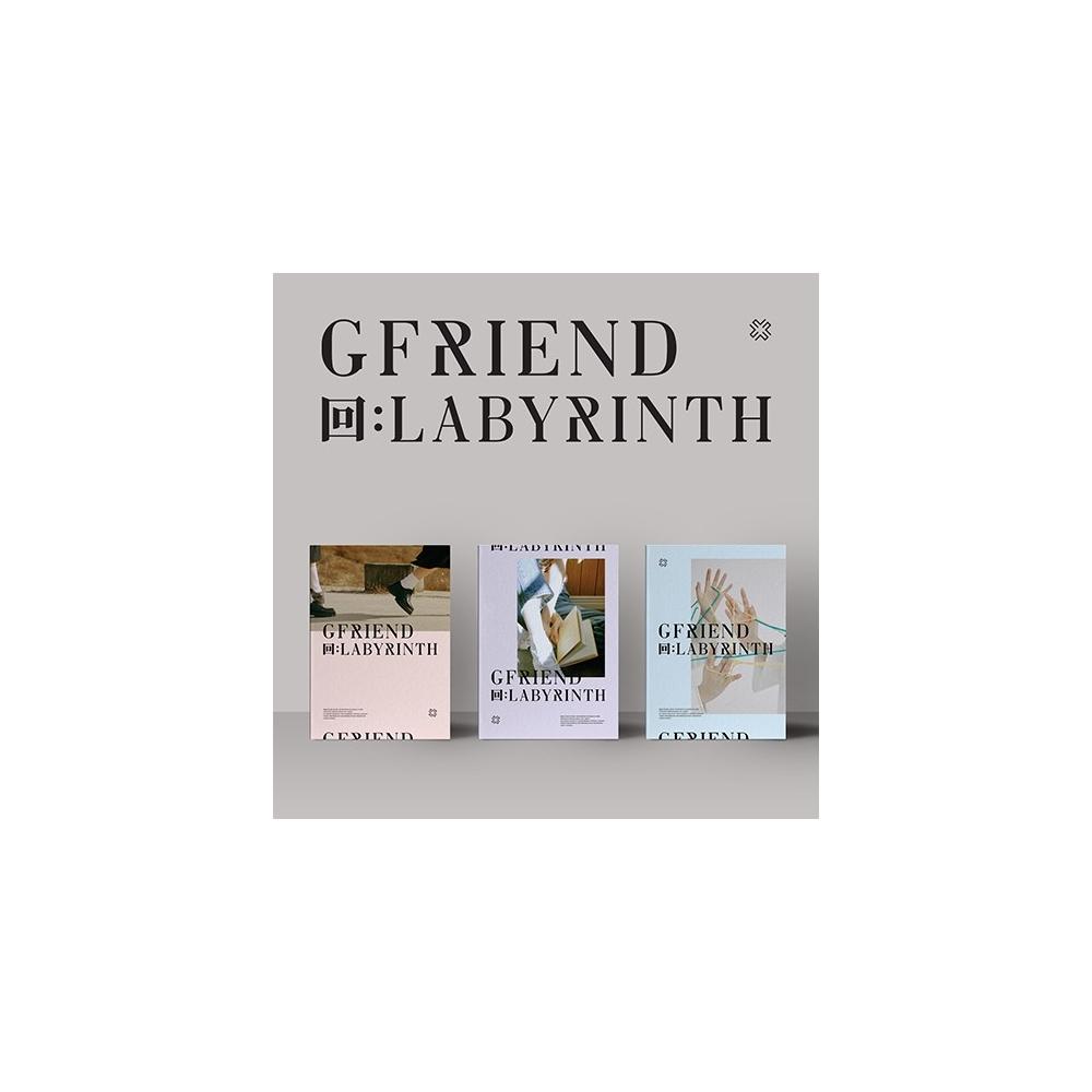 GFRIEND - 8th Mini Album 回:LABYRINTH (Random Version)