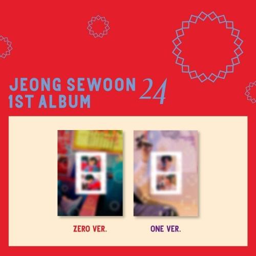 JEONG SEWOON - 1st Album 24 Part 2 (Random Ver.)