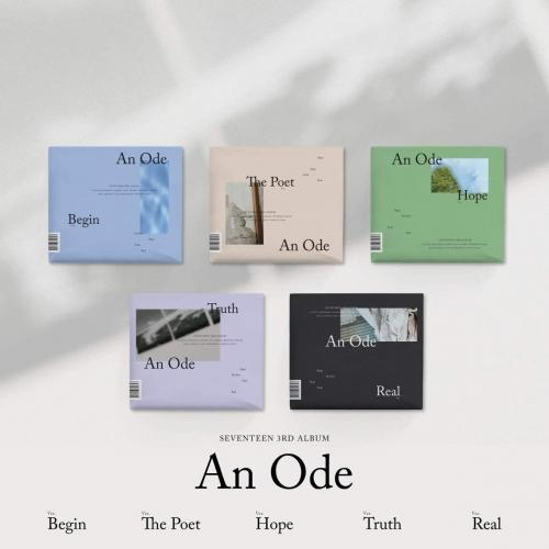 Seventeen - 3rd Album An Ode (Random Ver.)