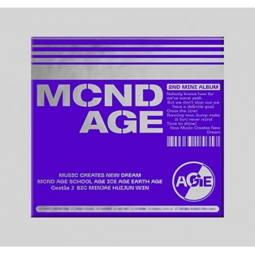 MCND - 2nd Mini Album MCND AGE (GET Ver.)