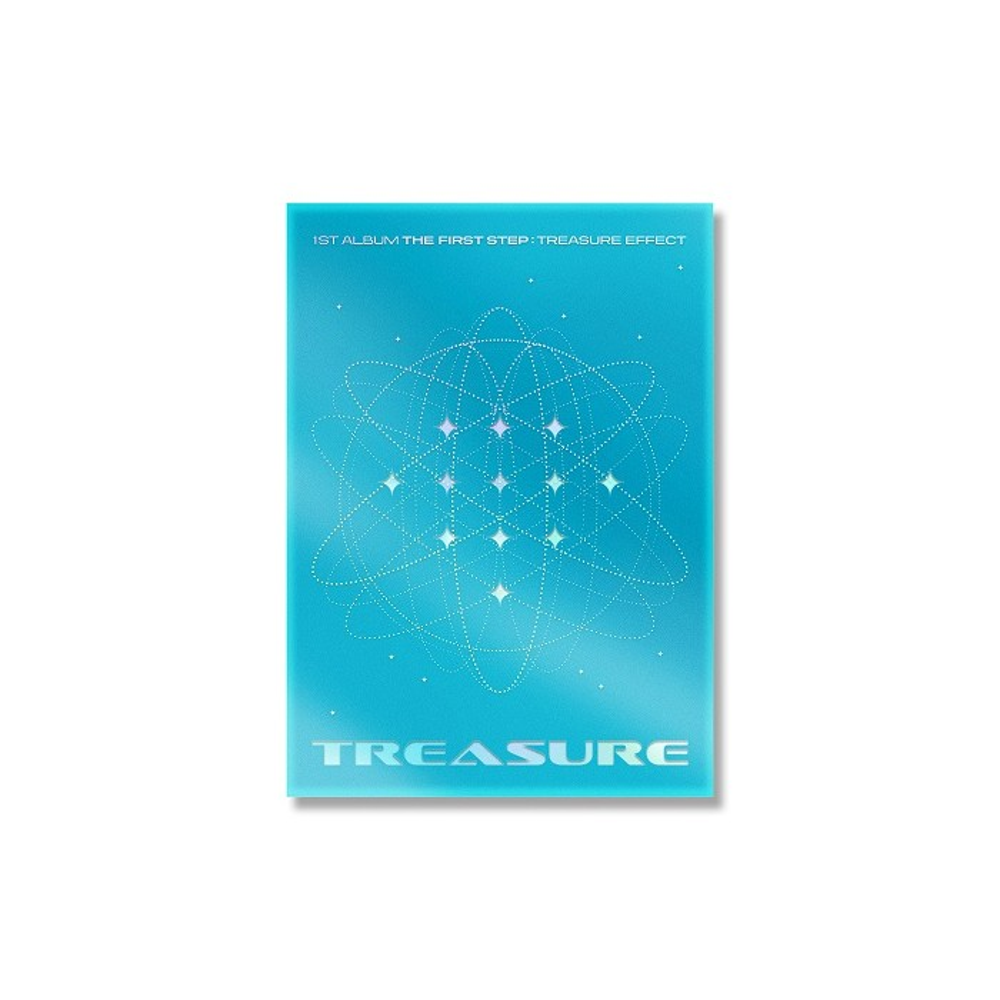 TREASURE - 1st ALBUM THE FIRST STEP : TREASURE EFFECT (Blue Ver.)