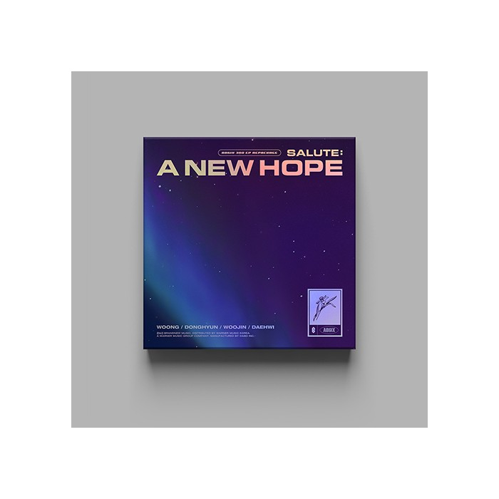 AB6IX - 3rd EP Repackage SALUTE : A NEW HOPE (HOPE Ver.)