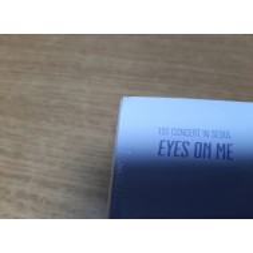 IZ*ONE - 1ST CONCERT IN SEOUL : EYES ON ME DVD (corner damaged)