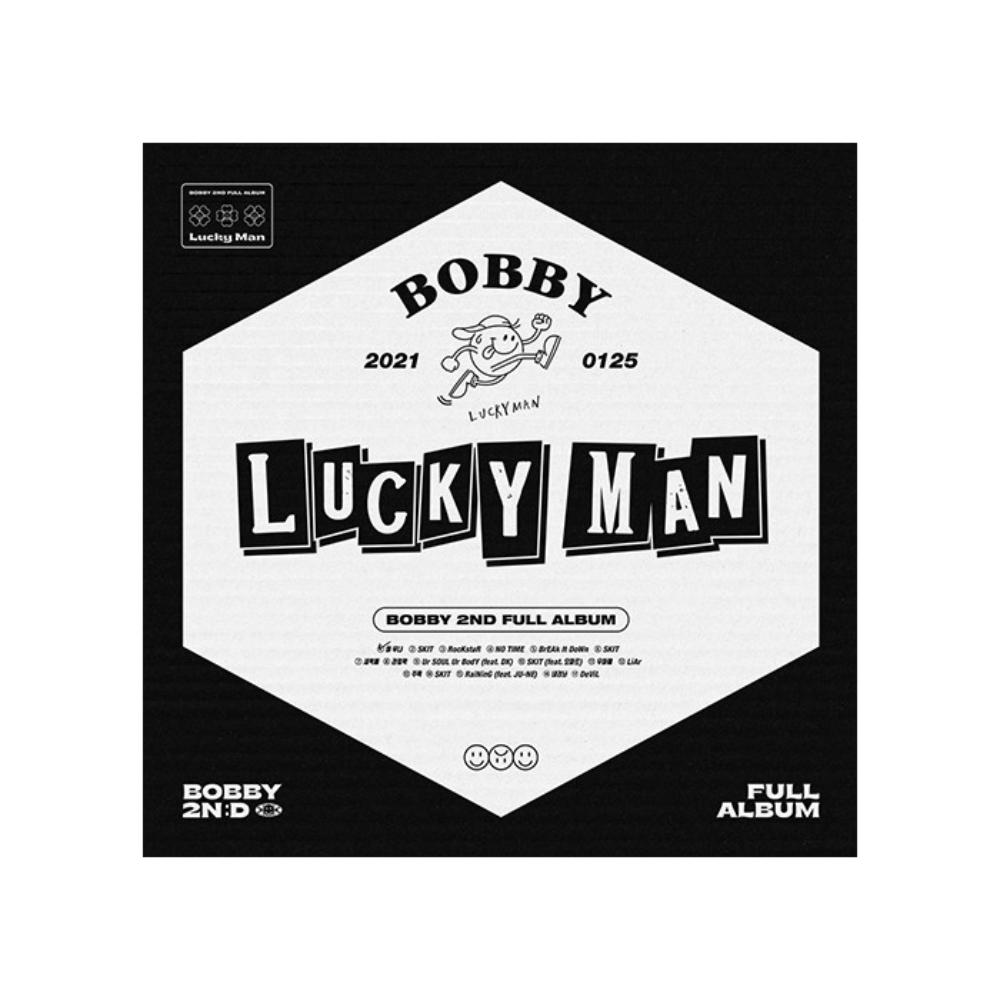 BOBBY - 2nd FULL ALBUM LUCKY MAN (A Ver.)