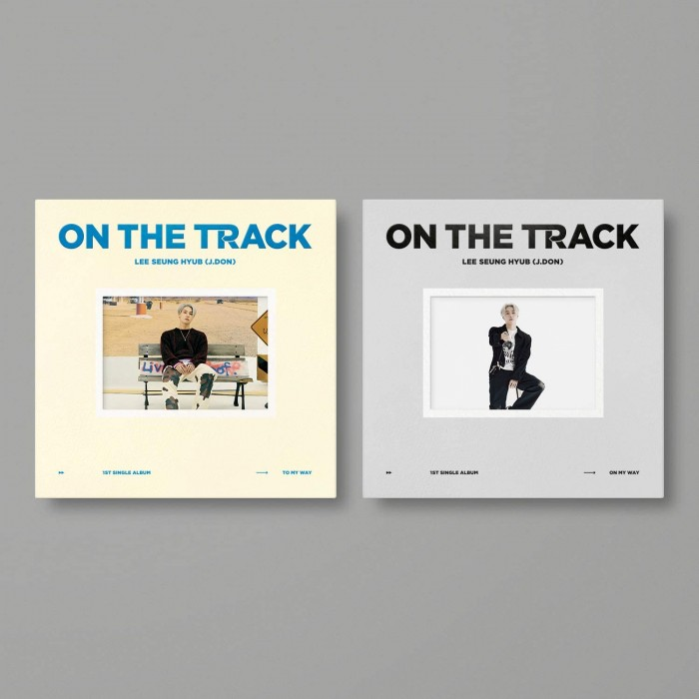 LEE SEUNG HYUB (J.DON) - 1st Single Album ON THE TRACK (Random Ver.)