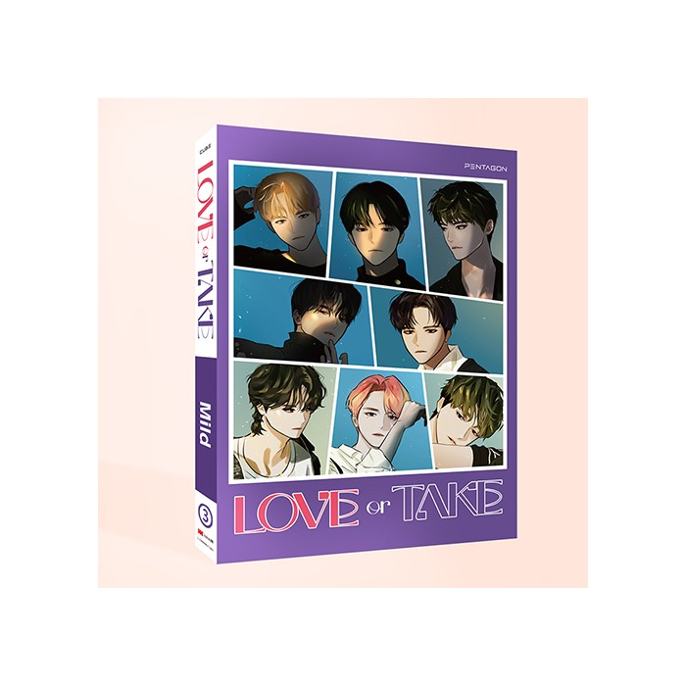 PENTAGON - 11th Mini Album LOVE or TAKE (Mild Ver.)
