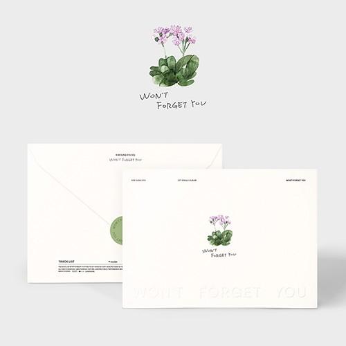 Kim Sung Kyu - Single Album Won't Forget You