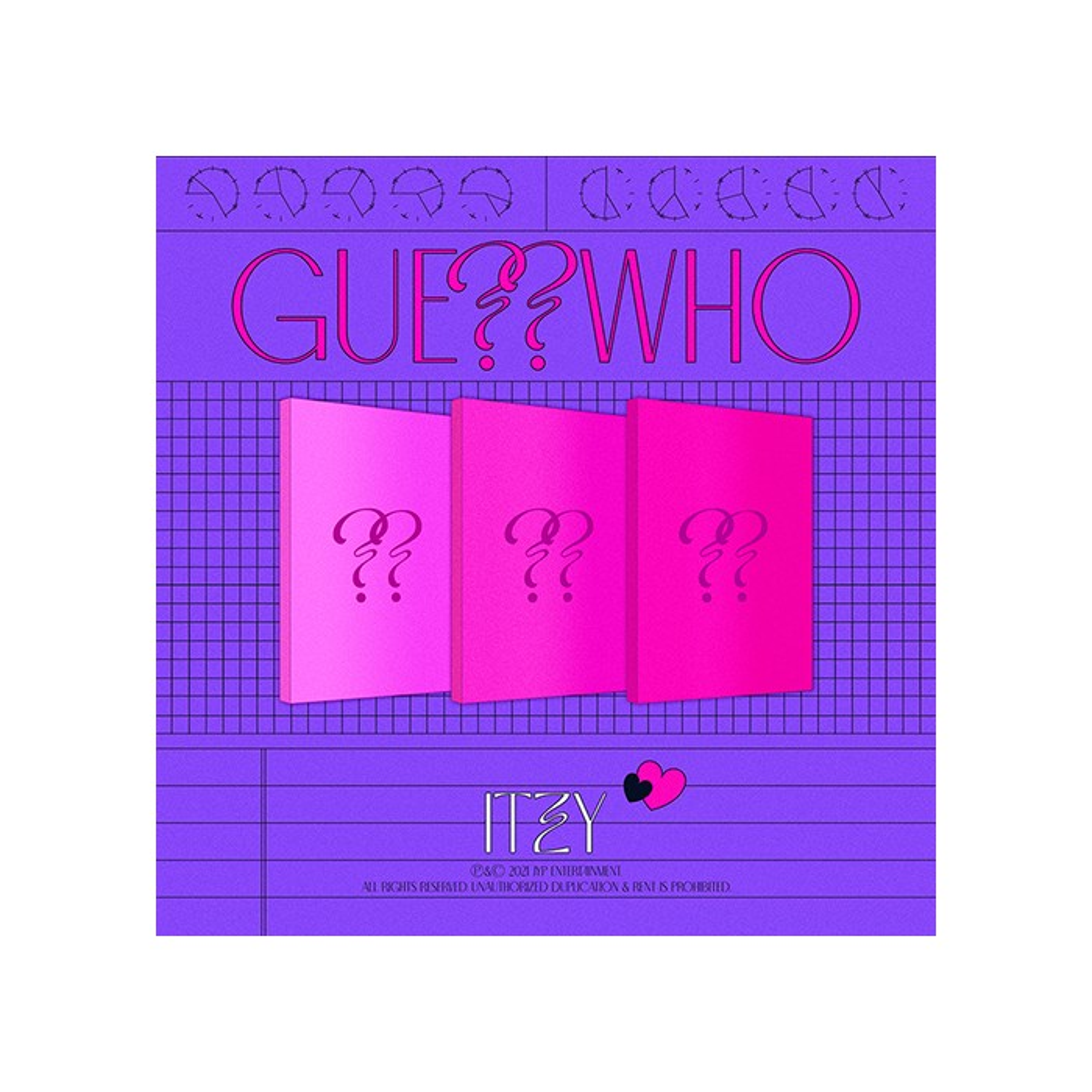 ITZY - GUESS WHO Album (Random Ver.)
